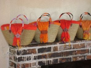 Beautiful baskets from Jabari Kenya